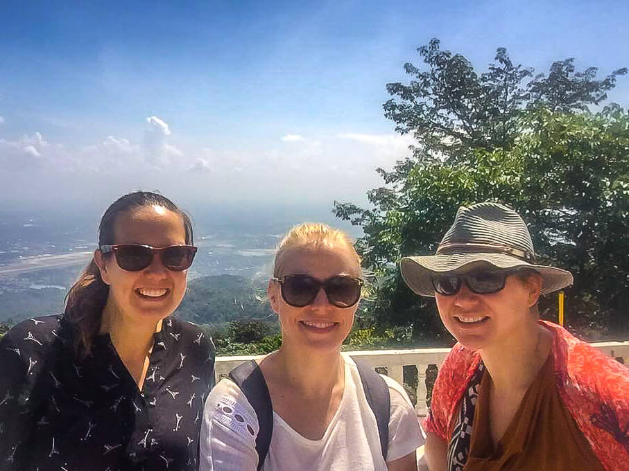 View from Wat Phra That Doi Suthep with friends