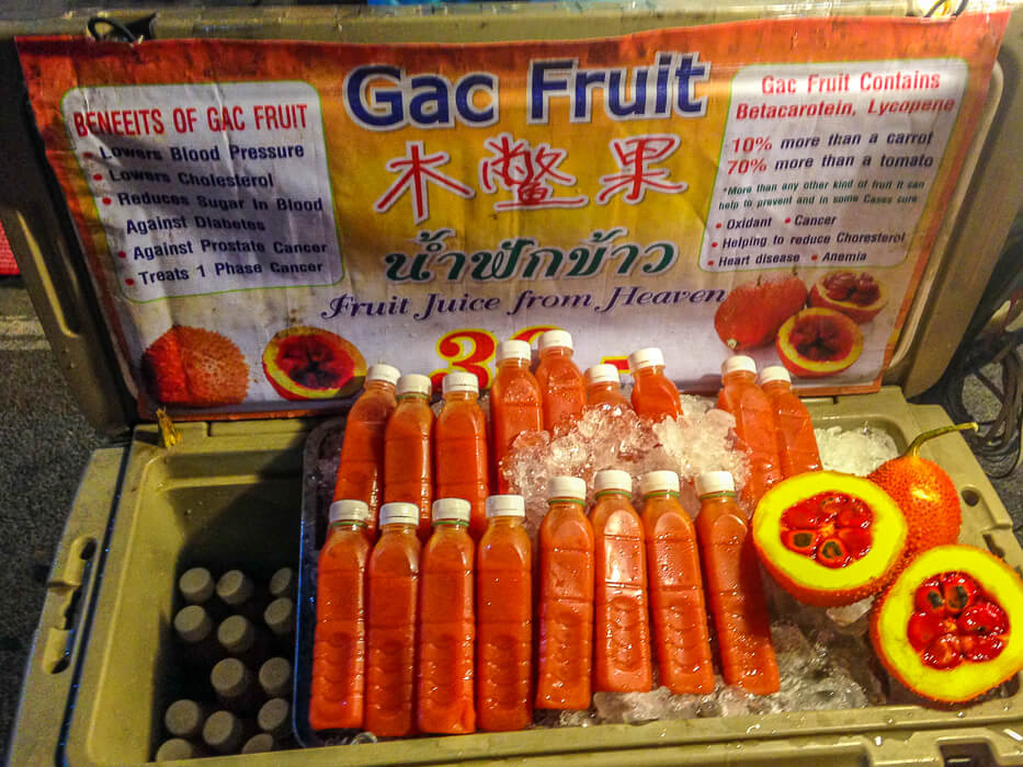 Gac fruit claims to cure disease but tastes terrible