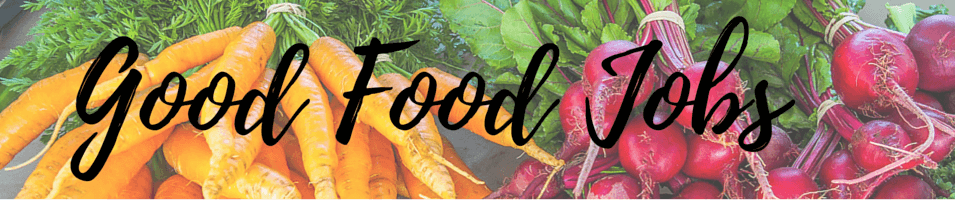 Category Header - Good Food Jobs by Global Locavore